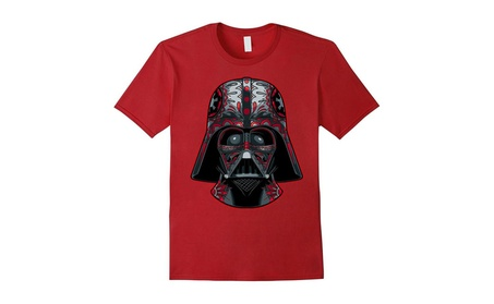 Darth Vader Helmet Markings Graphic T-Shirt bbef012a-76ba-48ed-b899-fede3ba1039b
