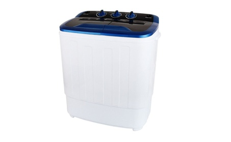 Portable Washing Machine 13LBS Mini Laundry Washer Spin Dryer photo