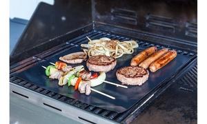 "Classic Cuisine Non-Stick Reusable BBQ Grill Mat- Set of 2 (16"" x 13"")"