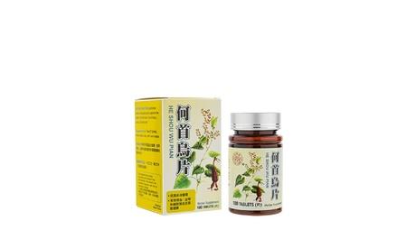 Shou Wu Pian Herbal Supplement for Grey Hair