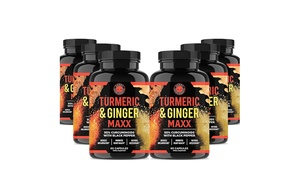 Angry Supplements Turmeric and Ginger Maxx Supplement (6-Pack)
