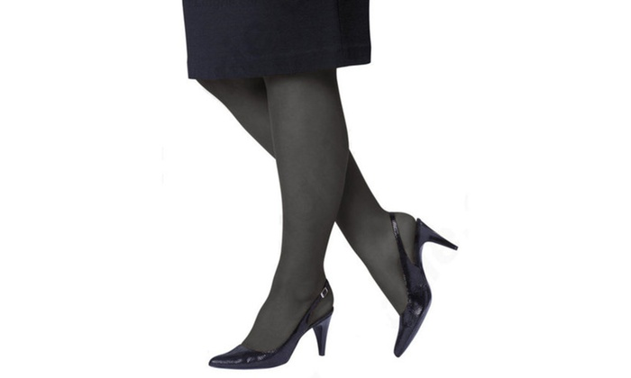 96494875ad2 (4-Pack) Just My Size Control Top Reinforced Toe Pantyhose