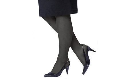 (4-Pack) Just My Size Control Top Reinforced Toe Pantyhose a174f56b-3536-45ec-91c6-d9414f7baea8