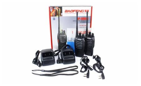 1 Pair Baofeng BF-888s 888s UHF 400-470MHz Two-way Ham Radio 9d081eb5-e656-4490-b4de-b663ce0294a9
