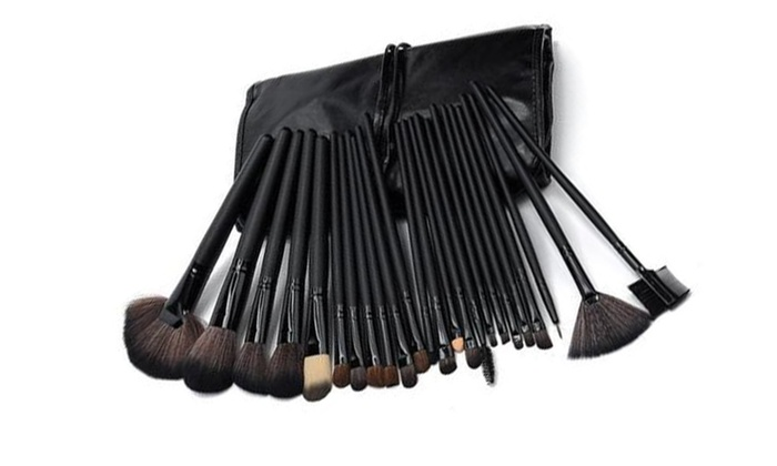 1a00b91276a Premium Women's Makeup Brushes/ Face Eye Lashes Eye Brows 24 Pack ...