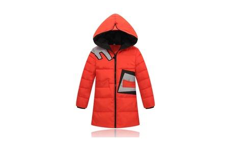 Boys Girls Windproof for Kids Thick Hooded Coats Outwear Winter Wear a3e3a414-7d6f-4c86-8baa-5275eccfba23