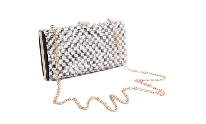 Women's Zipper Closure Solid Hand Bag