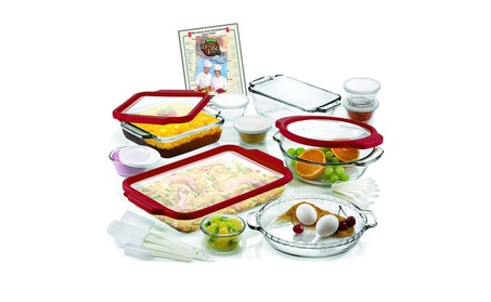 Anchor Hocking AH32TF 32 Pc Ovenware Set w TrueFit See-Thru Lids 9aa11f9d-914e-4589-b996-13611f8388e6