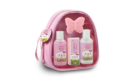 Kids' Bubble Bath Spa Gift Set in Watermelon Sugar Fragrance (5-Piece)