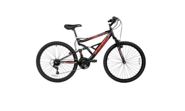 Dual Suspension Mountain Bike >> Hyper 26 Shocker Men S Dual Suspension Mountain Bike Groupon