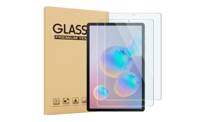 Ultra HD Clear Anti Bubble Anti Scratch 9H Hardness Tempered Glass Screen Film for 10.2‑inch Apple iPad 7th Generation EpicGadget Glass Screen Protector for 2019 iPad 10.2 2 Pack