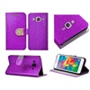 Insten Flip Leather Glitter Case For Samsung Galaxy Grand Prime