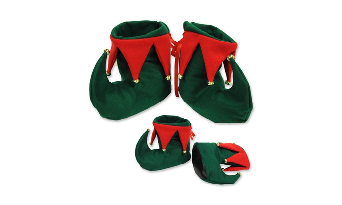 Beistle Elf Boots - 12 Pack (1 Pair/Card)