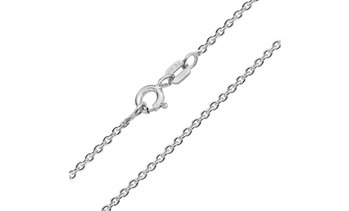 Thin Rolo Cable Chain Necklace 1.6MM For Women 925 Sterling Silver