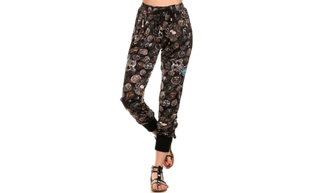 Lady Printed Jogger Pants 9daeebd1-0371-4fd5-97b6-3c009a744a47