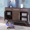 Ashfield Mid-century Modern Wood 3-drawer Sideboard
