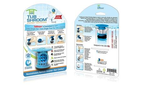 TubShroom Revolutionary Bathtub Strainer-Hair Catcher 8c12195a-2c1d-4f85-a7bb-1004702fc722