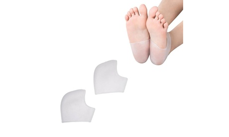 2 Pairs Silicone Gel Heel and Ankle Support Sleeves 78663671-fa8b-46da-86ec-6cd885a90aea