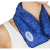 Microwave non scented hot or cold therapy neck wrap