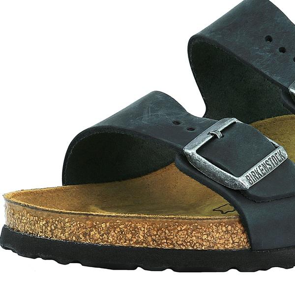 Birkenstock Leather Sandal Sandal Arizona Oiled Birkenstock Oiled Birkenstock Arizona Leather N0PXn8wOk