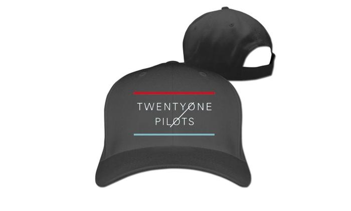 Unisex Jessie Wear Fans Twenty One Pilots Logo Printed Baseball cap