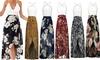 Women/Girls Deep V Neck chiffon Dresses Sleeveless Summer Lace Floral Maxi Dress