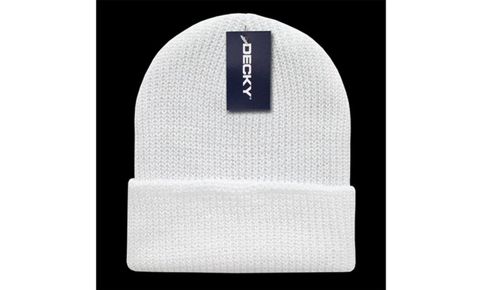 c8f95261cac4ad Up To 12% Off on Decky 600-WHT GI Watch Caps W... | Groupon Goods
