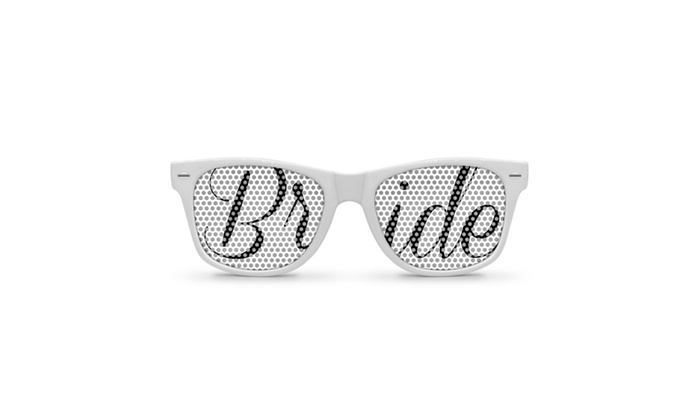 Bride Retro Party Sunglasses