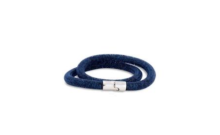 Swarovski Stardust Double Bracelet - Blue 1b1e4a39-47bb-4e94-bff2-b4dad2567bc0