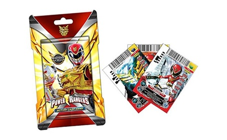 Power Rangers Action Card Game Legends Unite Booster PACK 29a7e548-39c5-4168-9ed0-2dcb02ef0a12