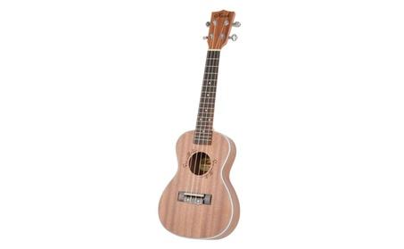 "Beginner 23"" MUH-505 Sapele Wood Concert 4 String Ukulele Guitar 643aec45-d3e6-4521-9d39-32825177fb7d"