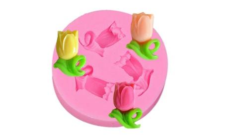 Small Size Flower Shape Silicone 3D Fondant Cake Lace Mold Tool 7390066d-27a6-43de-a05d-a4cccdebd4cd