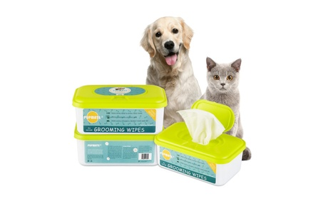 Pet Wipes for Dogs & Cats 100 Deodorizing Wipe Counts (1 pack) USA b21e0757-3bb9-4a62-a1ab-f27f18ff45c1
