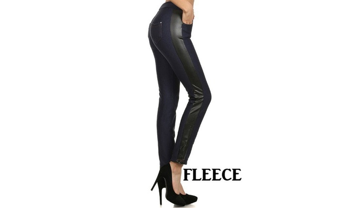Terry Fashion Jeggings