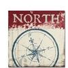 Wellington Studio Nautical I Red Canvas Print