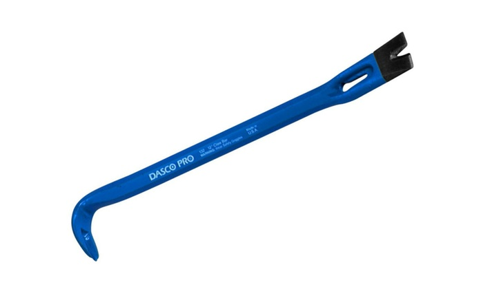 "Dasco Pro 132 Claw Bar Nail Puller, 12"""