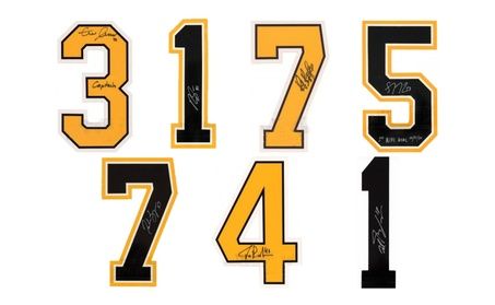 Boston Bruins Signed Autographed NHL Authentic Jersey Numbers 614cb003-6afa-4ca3-aec9-f7101effefdf