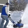 Snow Joe SJ625E Electric Single Stage Snow Thrower 21-Inch15 Amp Motor - Blue