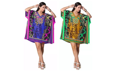 Sexy Short Caftan Dress - Plus Size Available