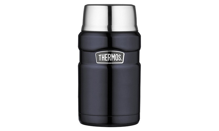 Midnight Blue Thermos Stainless King 24 Ounce Food Jar
