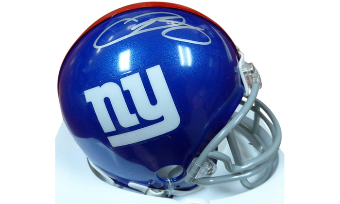 new product a4995 846b4 Odell Beckham Jr. Autographed Mini Helmet - New York Giants