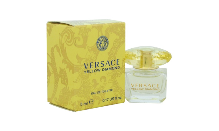 Versace Versace Yellow Diamond Women 0.17 oz EDT Splash (Mini)
