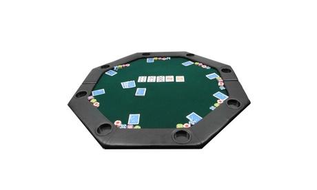 51 x 51 inch Octagon Padded Poker Tabletop Green d378fa95-905f-45d7-bf0d-2d275885c6ca
