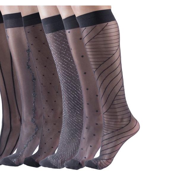2fc6946dd0d Womens Sheer Fashion Trouser Socks
