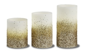 Order Home Collection 3-Piece LED Candle Set with Timer