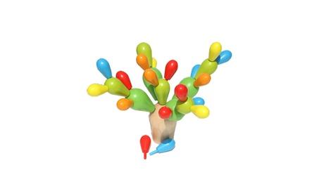 Kids Balancing Cactus Wooden Block Cactus Toy Educational Toys b1e2a634-596c-4c7f-adf7-b21052908537