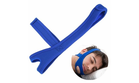 Snore Stop Belt Anti Snoring Cpap Chin Strap Sleep Apnea Jaw Solution