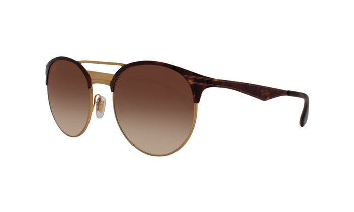 Ray Ban Double Bridge RB3545 900813 54 Tortoise Gold / Brown Gradient