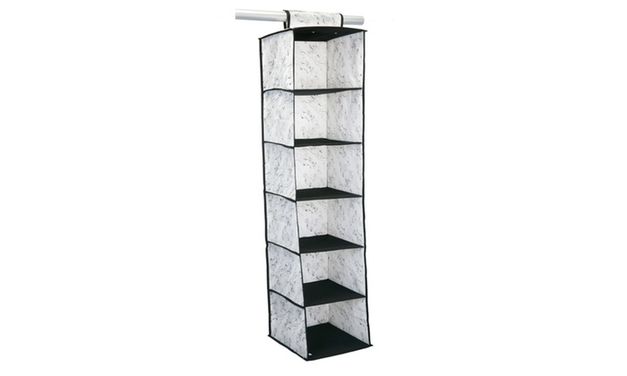 6 Shelf Closet Organizer In Marble ...