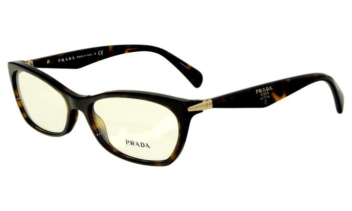 Prada Women's Rectangle Sunglasses